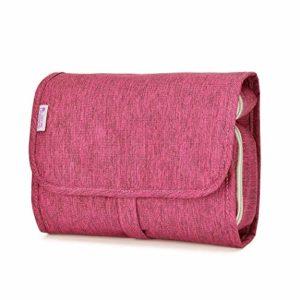 635f69ccc Mardingtop Neceser/Maquillaje Organizador/Bolso cosmético/hogar  Almacenamiento Paquete/baño con Colgantes Vacaciones con el Gancho Colgante